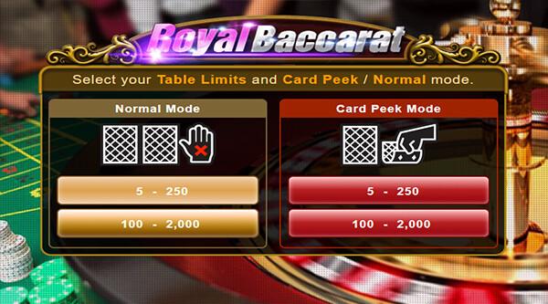 Royal Baccarat